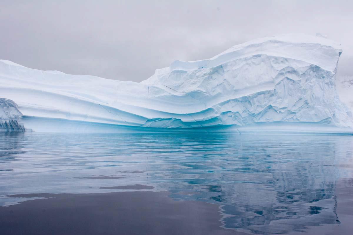 Iceberg Reflected